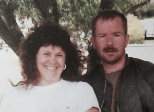 Paul and his sister Kay, 2000